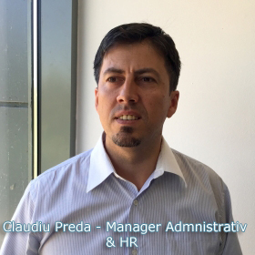 Claudiu Preda - Manager Resurse Umane