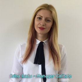 Irina Radu - Manager Calitate
