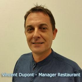 Vincent Dupont - Manager Restaurant